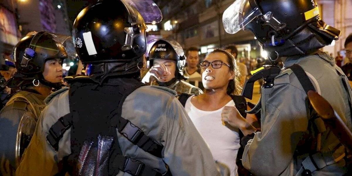 Nueva jornada de protestas en Hong Kong causa enfrentamientos con la policía