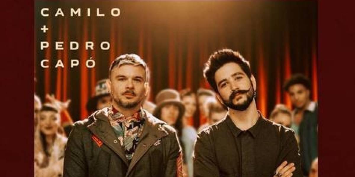 """Cantautor colombiano Camilo presenta disco """"Tutu"""" junto a Pedro Capó"""