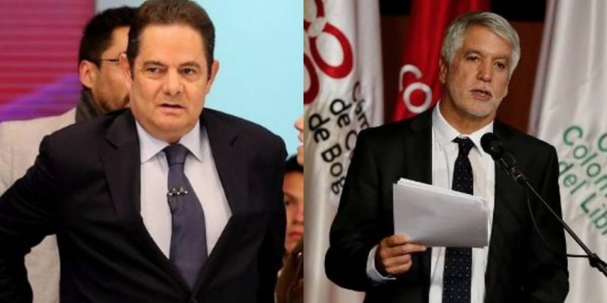 Peñalosa y Vargas Lleras chocan en Twitter por la Autopista Norte