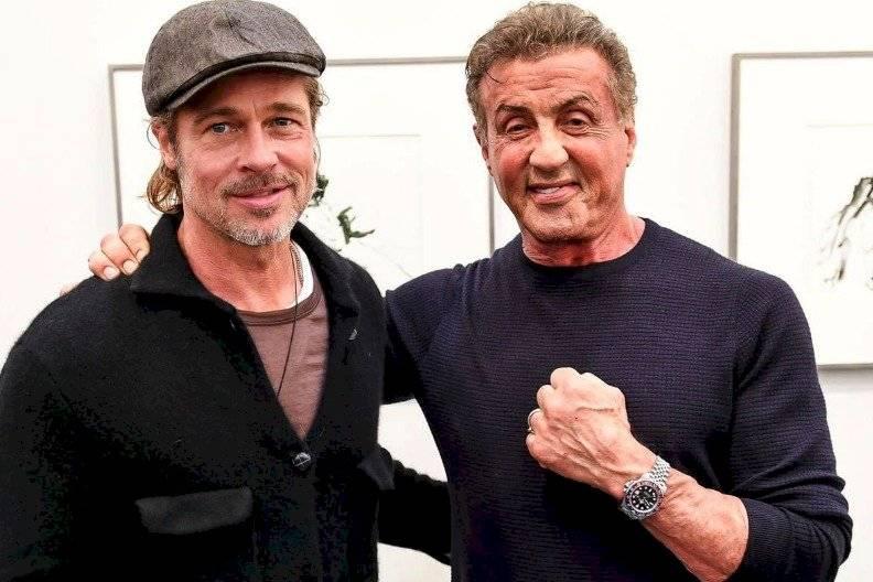 Brad Pitt y Sylvester Stallone