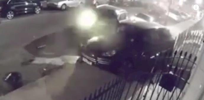 El choque de más de un millón de dólares: Audi se estrella contra otros 11 carros lujosos