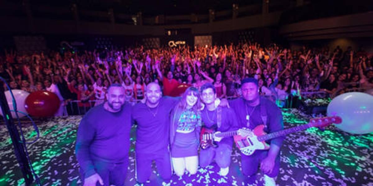 Covi Quintana regaló a su público un concierto para recordar…