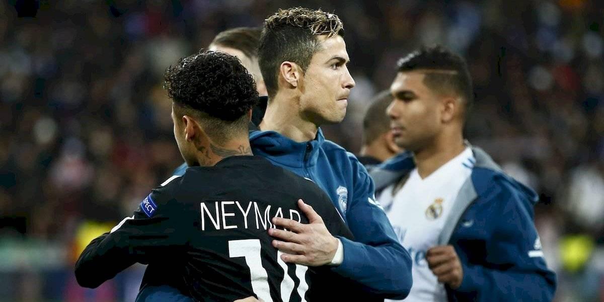 VIDEO: ¡Cristiano Ronaldo y Neymar protagonizan pelea de box en comercial de tv!