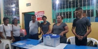 Segunda vuelta de la elección presidencial en San Jorge, Zacapa.