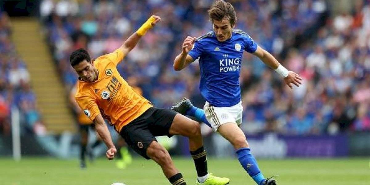 Wolverhampton, con Jiménez en el campo, empata con Leicester sin goles