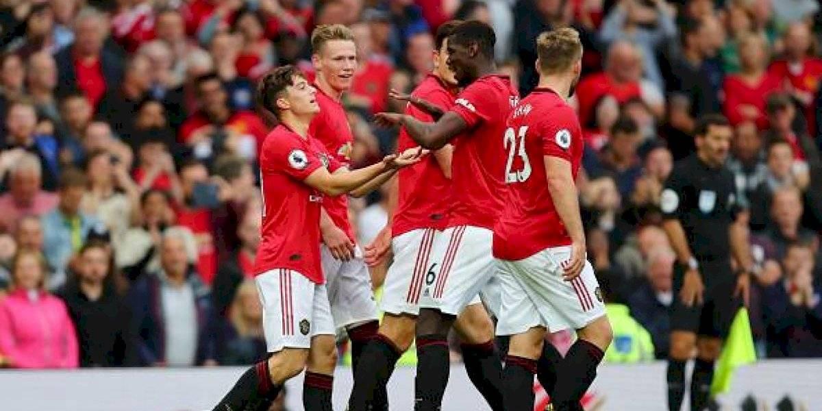 Manchester United tiene inicio de ensueño y golea al Chelsea