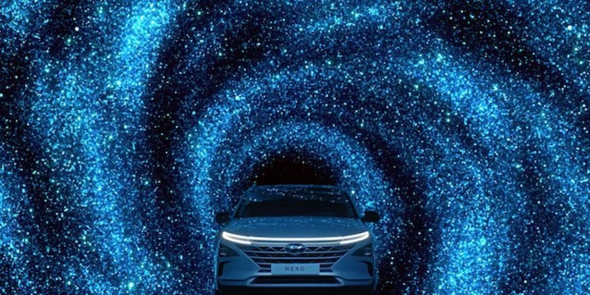 Auto eléctrico Hyundai con pila de combustible