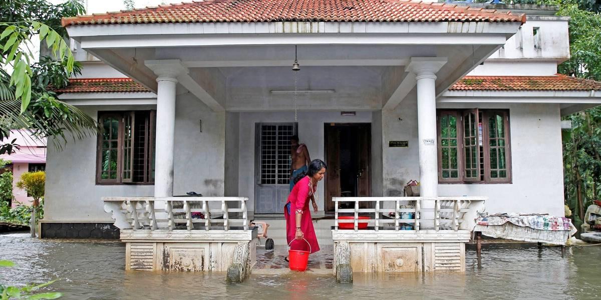 Enchentes deixam mais de 140 mortos na Índia