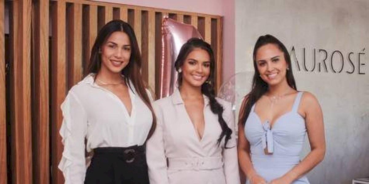 """#TeVimosEn: Laura Báez inaugura tienda de vestidos """"Laurose"""""""