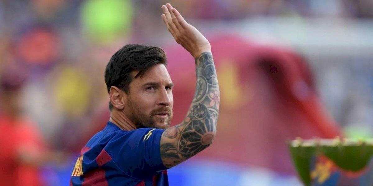 Messi seguirá fuera de las canchas, no jugará frente a Valencia