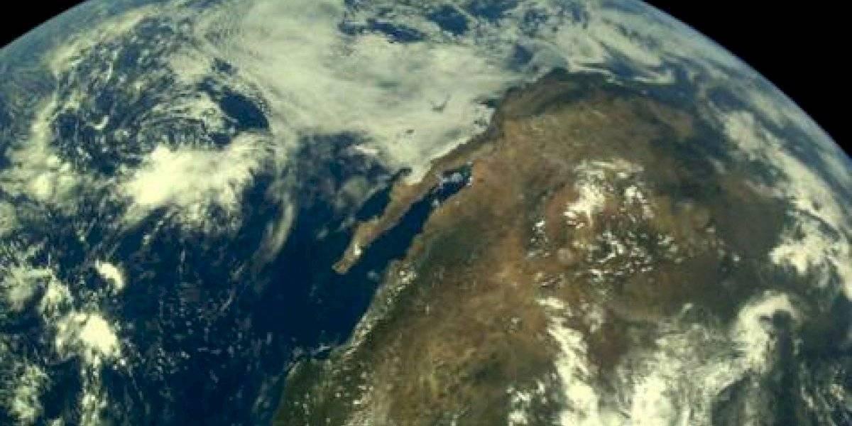 Nave espacial india toma increíbles fotos de la Tierra