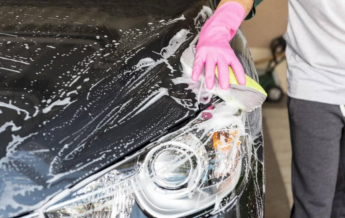 lavar limpieza auto