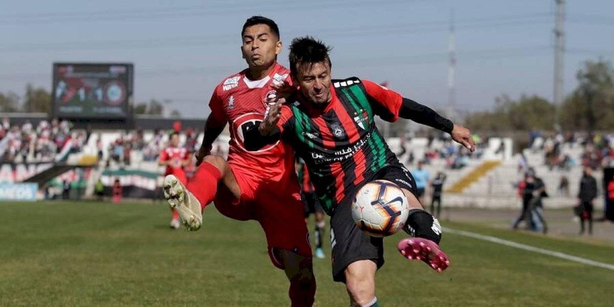 Palestino y Unión La Calera no se sacaron ventajas en La Cisterna y siguen en zona de torneos internacionales