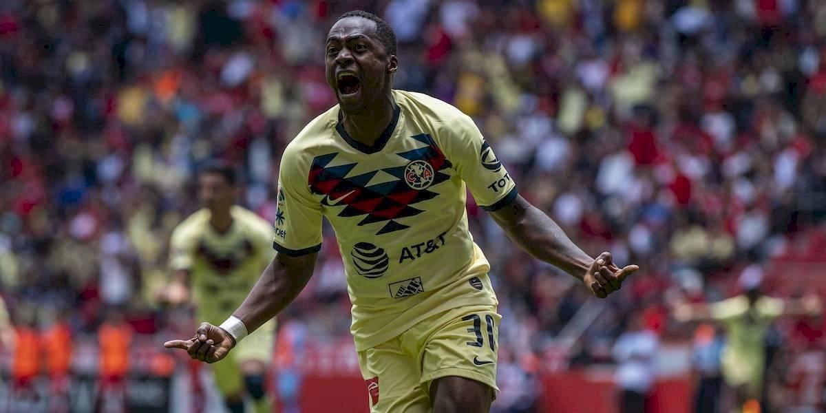 América derrota por la mínima al Toluca y sigue invicto tras 4 jornadas