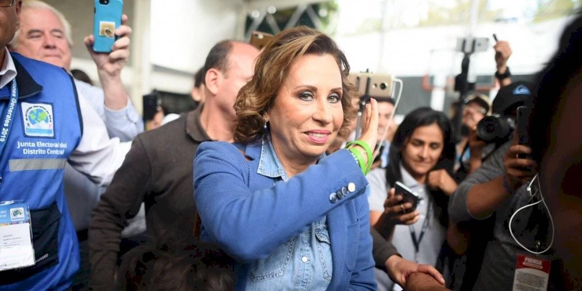 """Sandra Torres: """"Si es la voluntad de Dios y del pueblo, lo lograremos"""""""