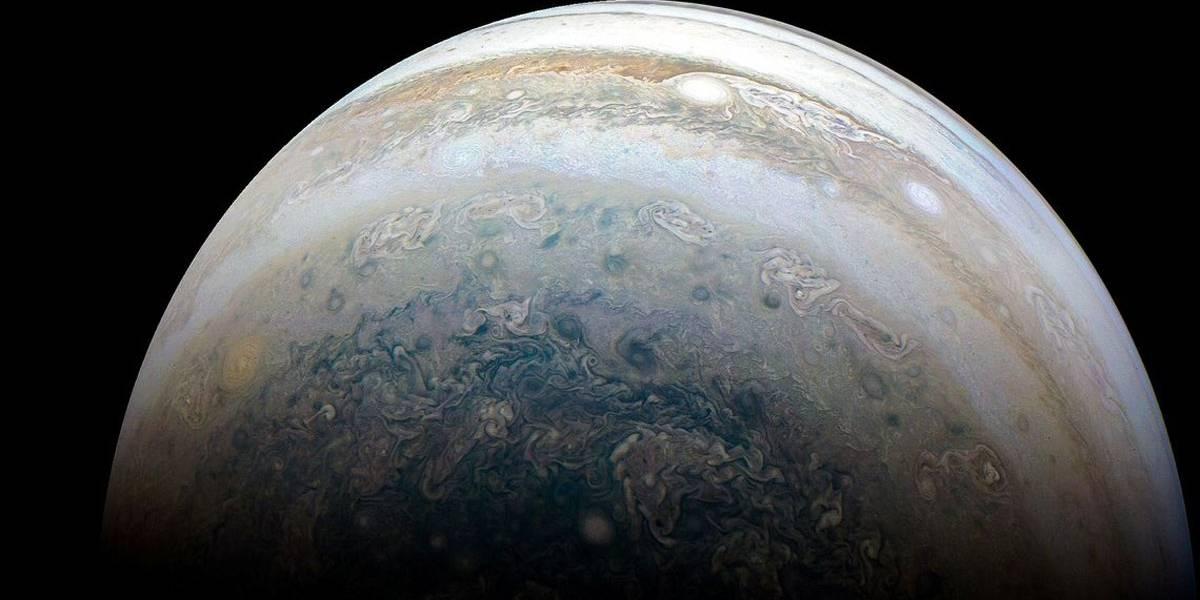 Nasa faz novo registro de Júpiter