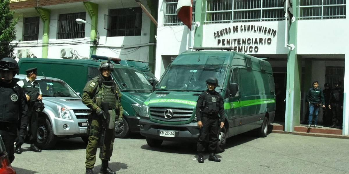 Riña al interior de la cárcel de Temuco terminó con dos imputados muertos