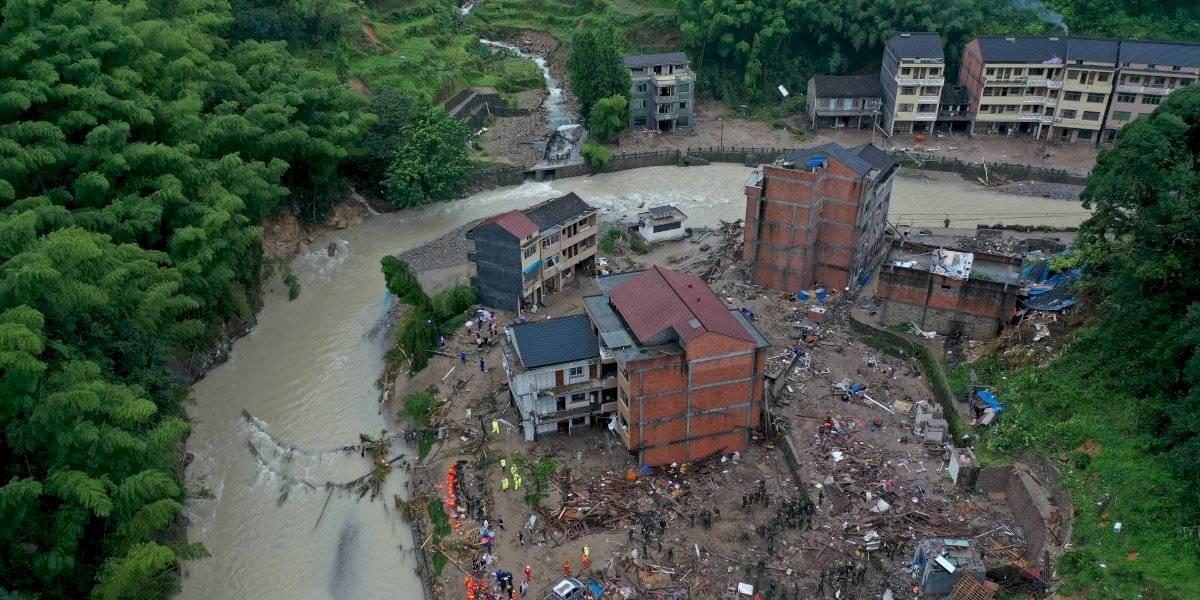 El tifón Lekima deja 32 muertos y 5 millones de afectados a su paso por China