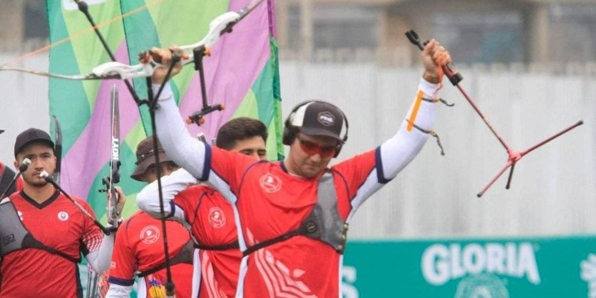 El equipo de tiro con arco le dio una histórica medalla de plata a Chile en los Panamericanos