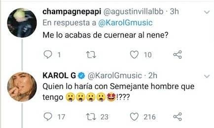 Tuit Karol G