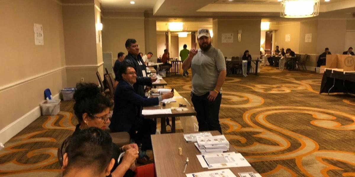 Al menos 300 guatemaltecos que residen en Estados Unidos han votado