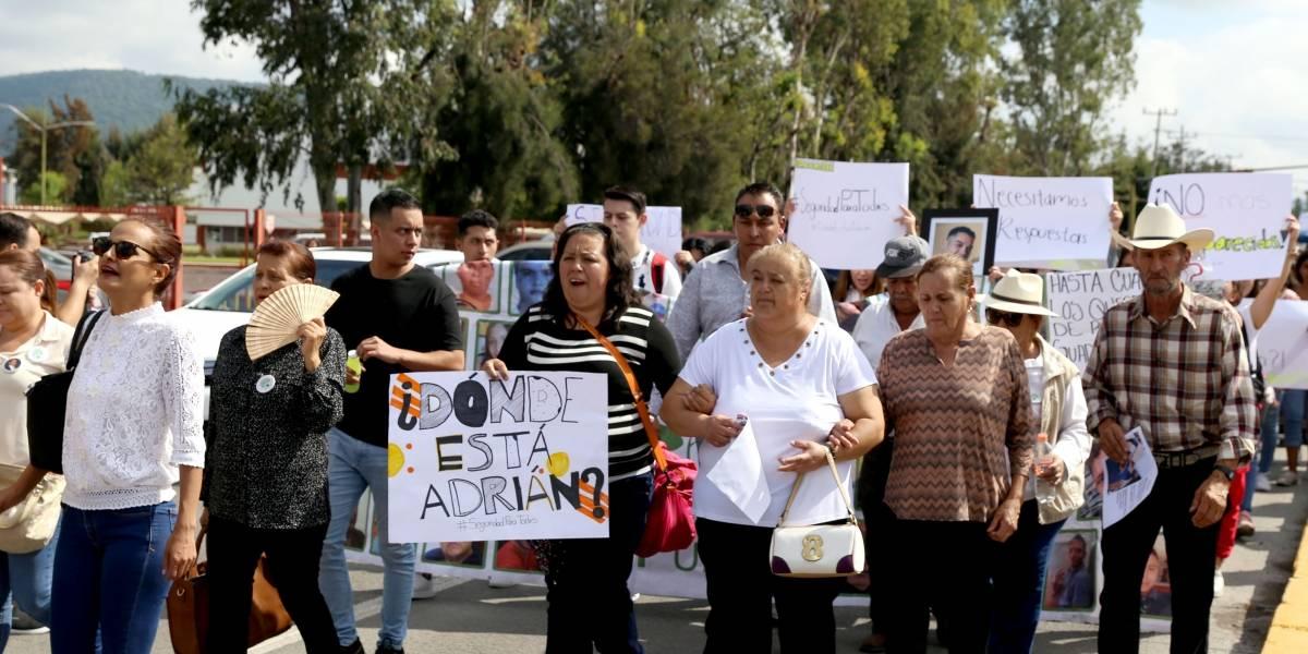 Protesta en Ocotlán por desaparición de estudiante en Los Altos de Jalisco