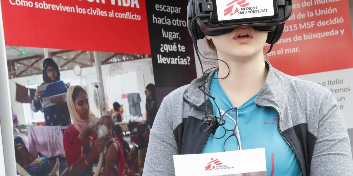Un acercamiento al drama de los refugiados a través de gafas de realidad virtual