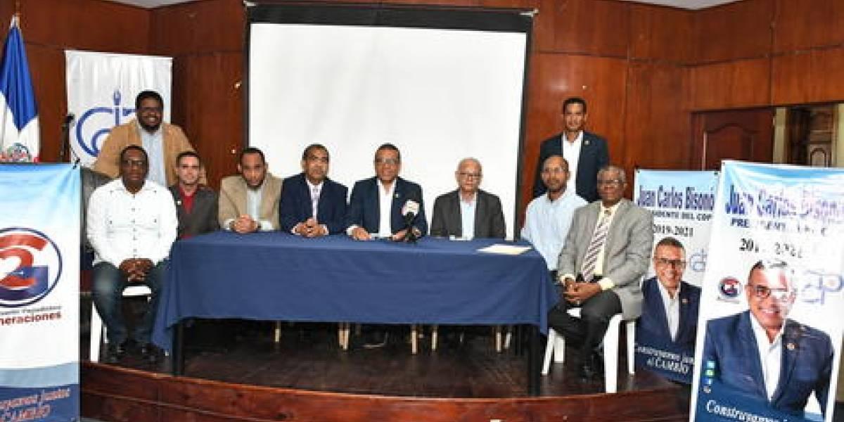 Agrupaciones periodísticas apoyan candidatura Juan Carlos Bisonó presidencia CDP