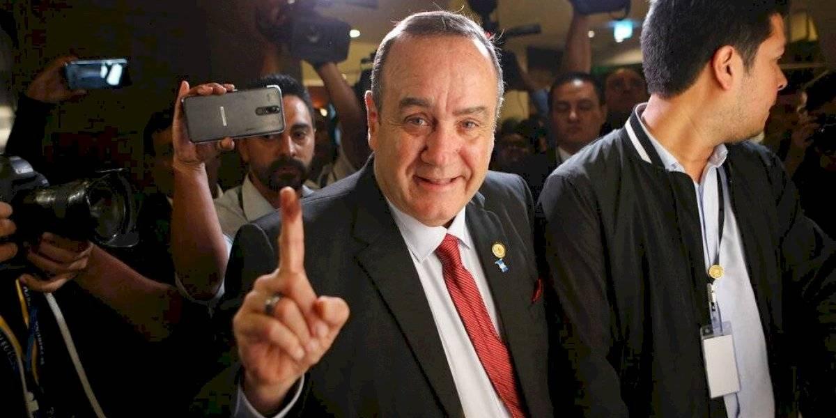 Gobierno mexicano felicita a Giammattei, presidente electo de Guatemala
