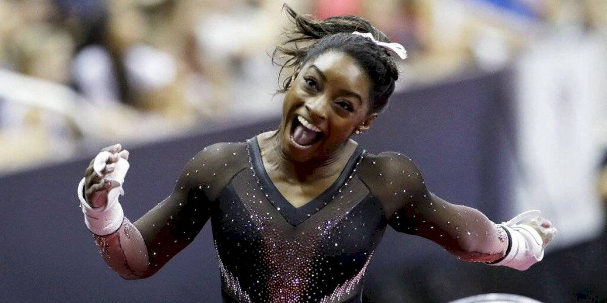¡Maravilloso! La espectacular acrobacia de Simone Biles que deslumbra al mundo