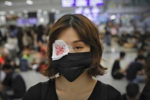 Protesta Aeropuerto Hong Kong
