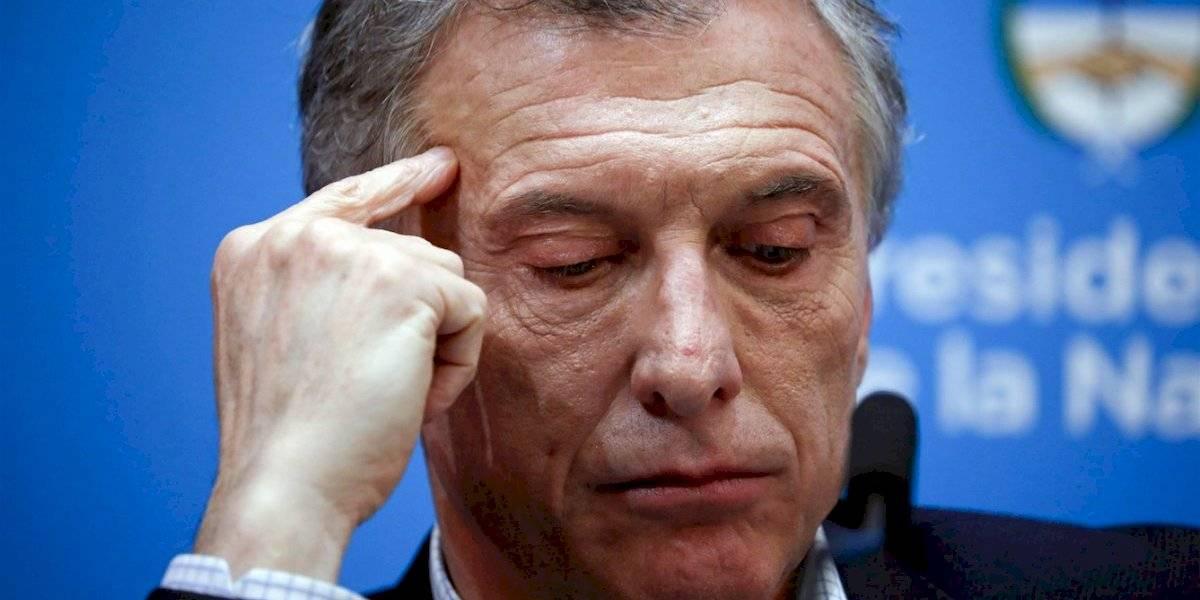 """Macri llora por la herida: dijo que """"el kirchnerismo no tiene credibilidad en el mundo"""""""