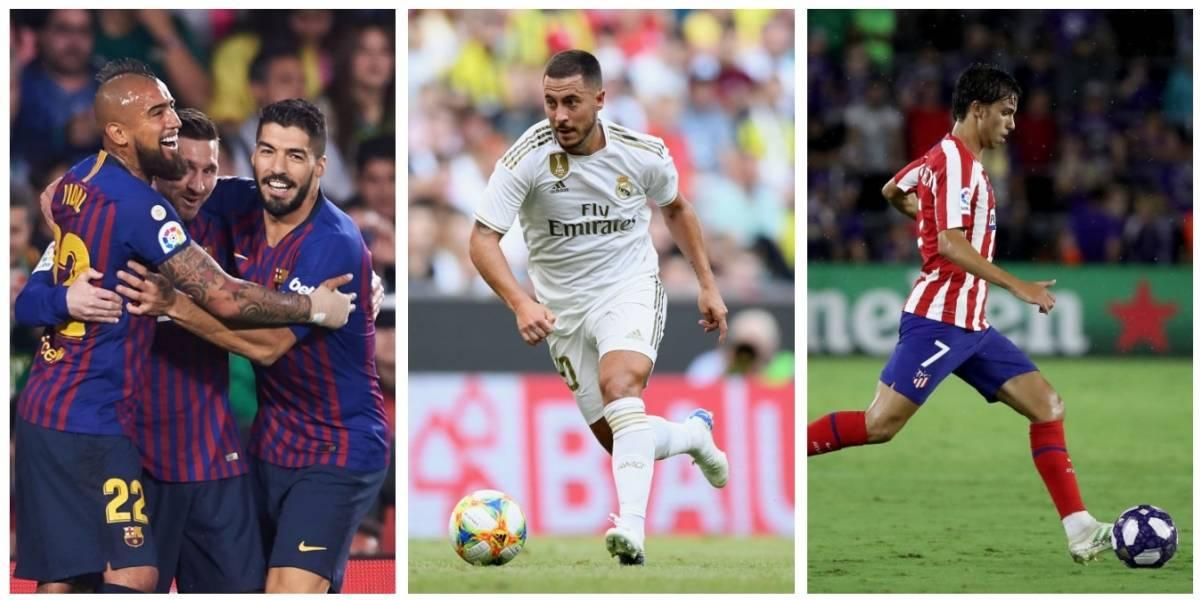 Chilenos, grandes traspasos, candidatos y la TV: Todo lo que hay que saber de La Liga española 2019-2020