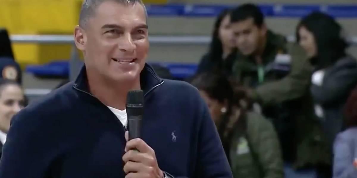 Faryd Mondragón explicó por qué agradeció a Marta Lucía Ramírez por el fútbol femenino