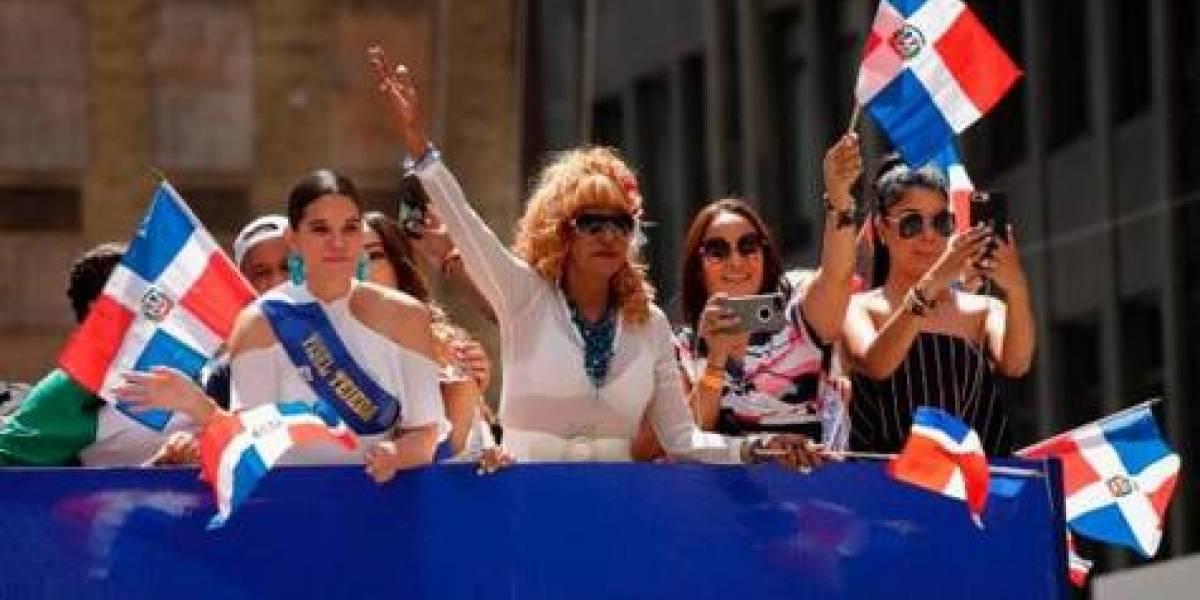 Charytín Goyco y Fefita La Grande, orgullo dominicano en el desfile de NY