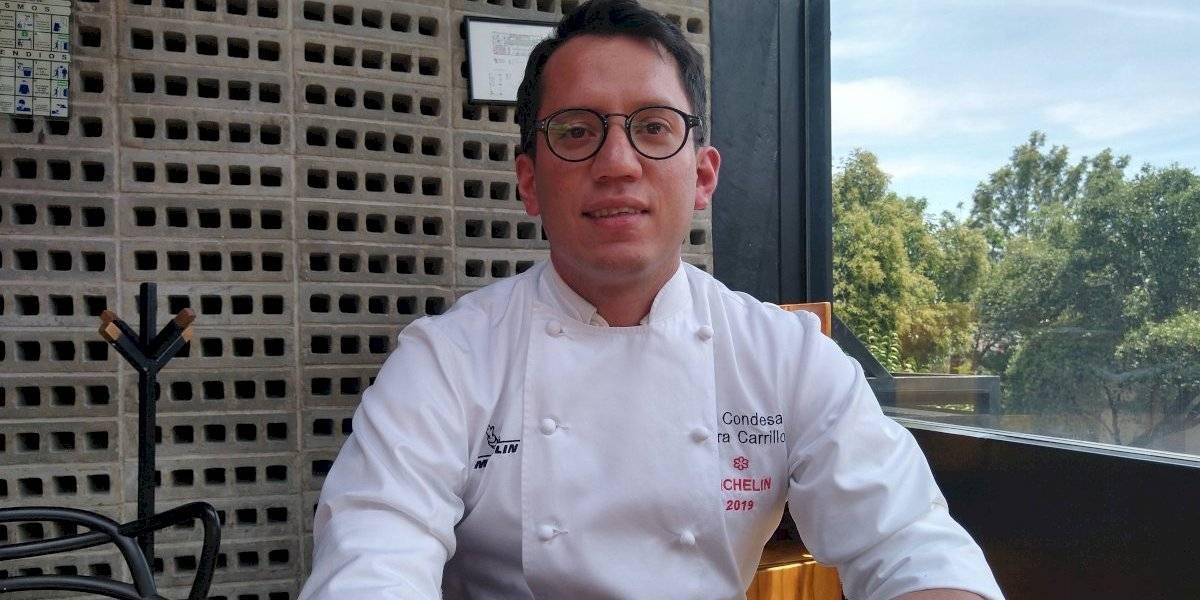 Indra Carrillo, el chef mexicano ganador de una estrella Michelin, trae su cocina a la Roma