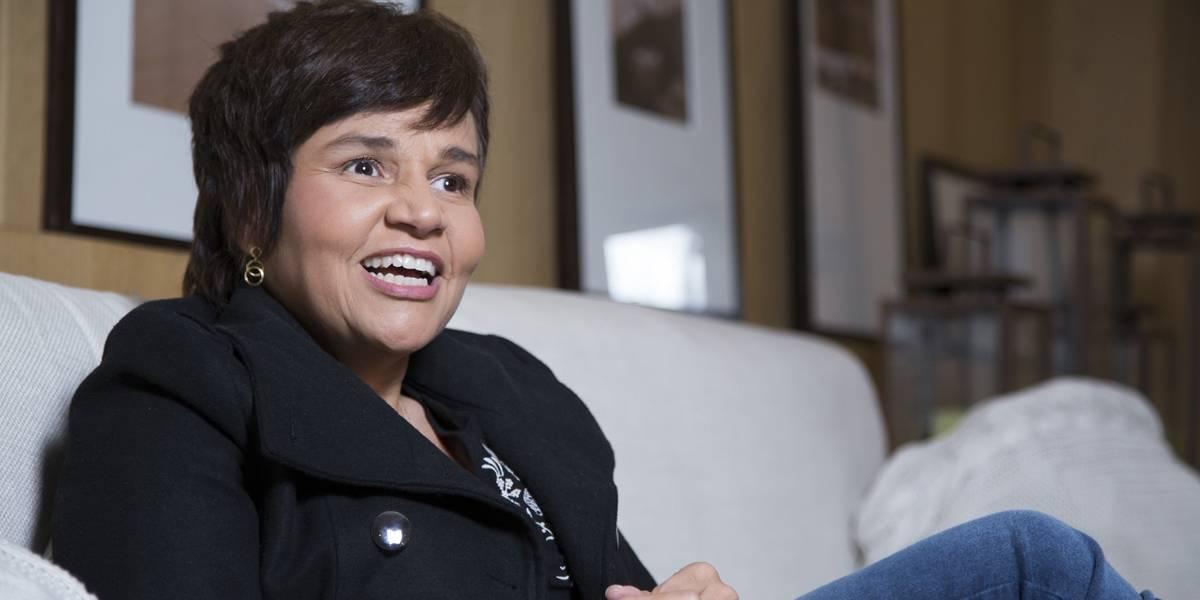 Claudia Rodrigues é internada para tomar nova dose de medicação