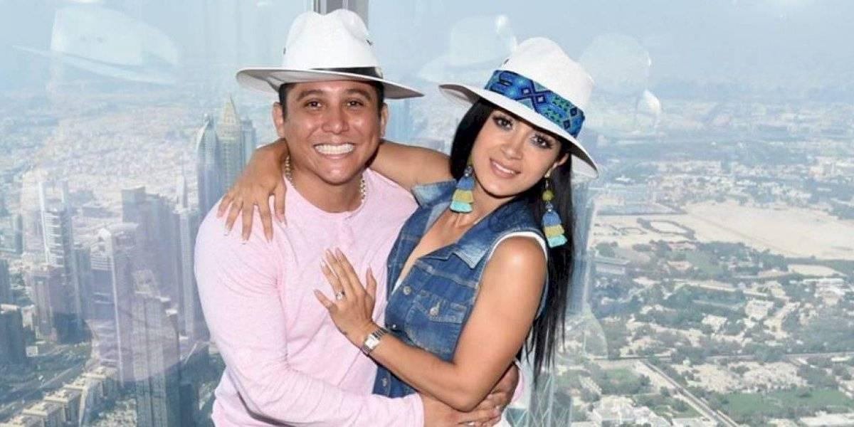 """Kim Flores confiesa que Edwin Luna es """"infiel"""" y desata la polémica en redes"""