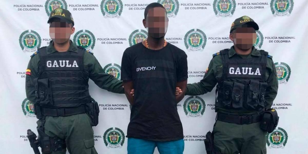 Video: Extorsionista fue capturado cuando iba a recibir dinero de su víctima