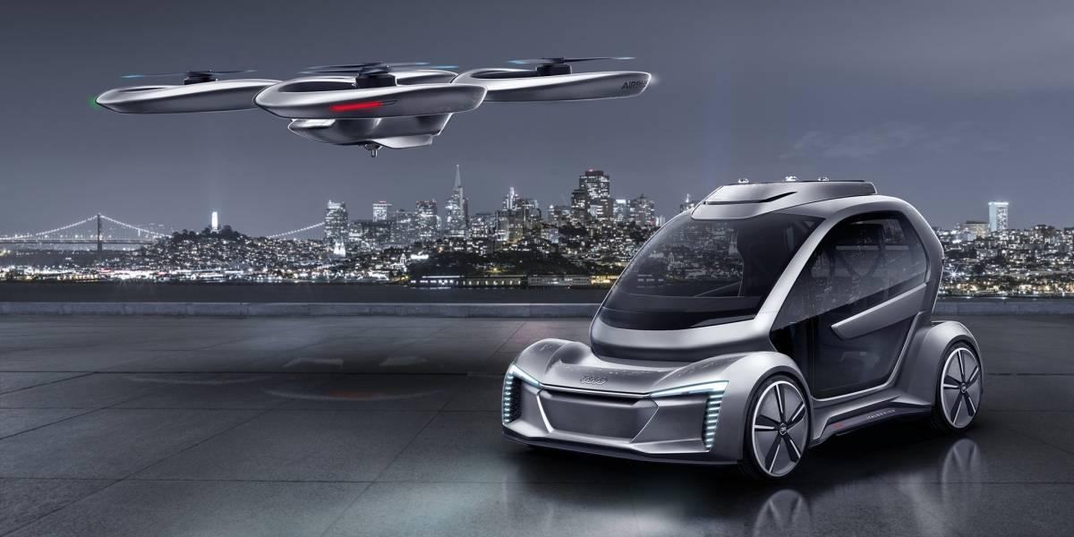 Audi, Italdesign y Airbus probarán taxis voladores en Alemania