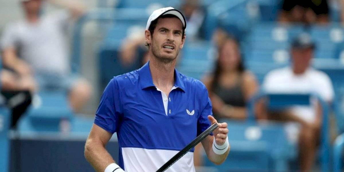 Un luchador Andy Murray quedó eliminado en su regreso al singles en Cincinnati tras siete meses fuera