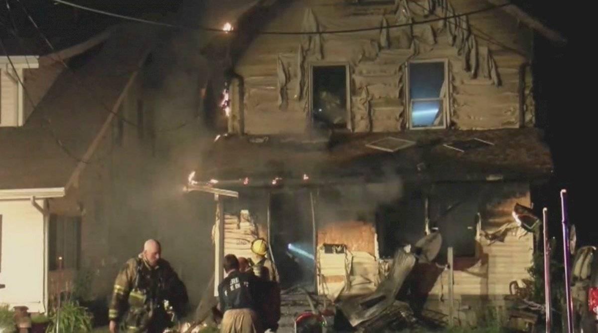 Incendio en Erie, Pensilvania