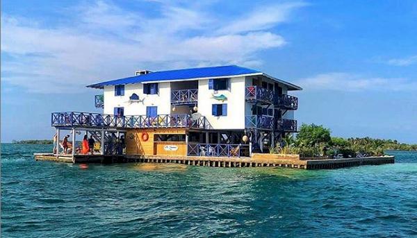 Este es el hotel construido ilegalmente por el exmagistrado Pretelt en un arrecife