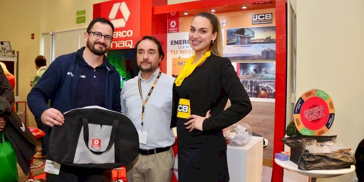 JCB muestra sus productos en la Expo Energía 2019