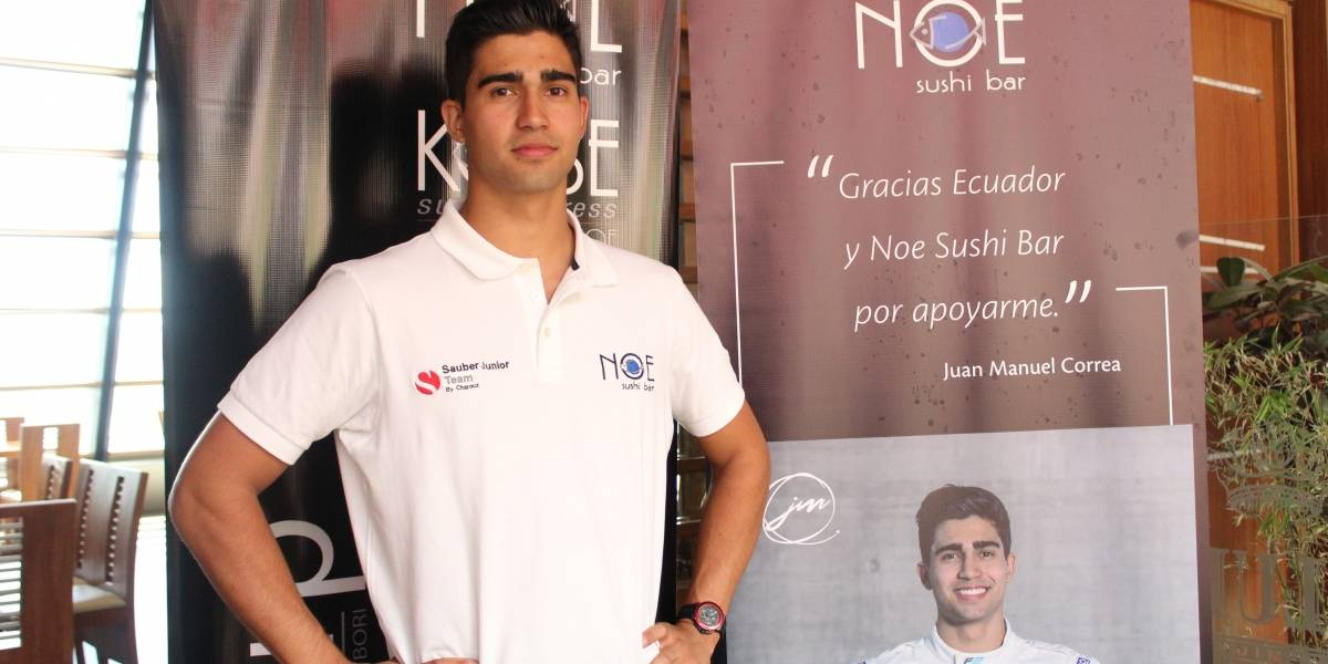 Juan Manuel Correa, a un paso de la F1