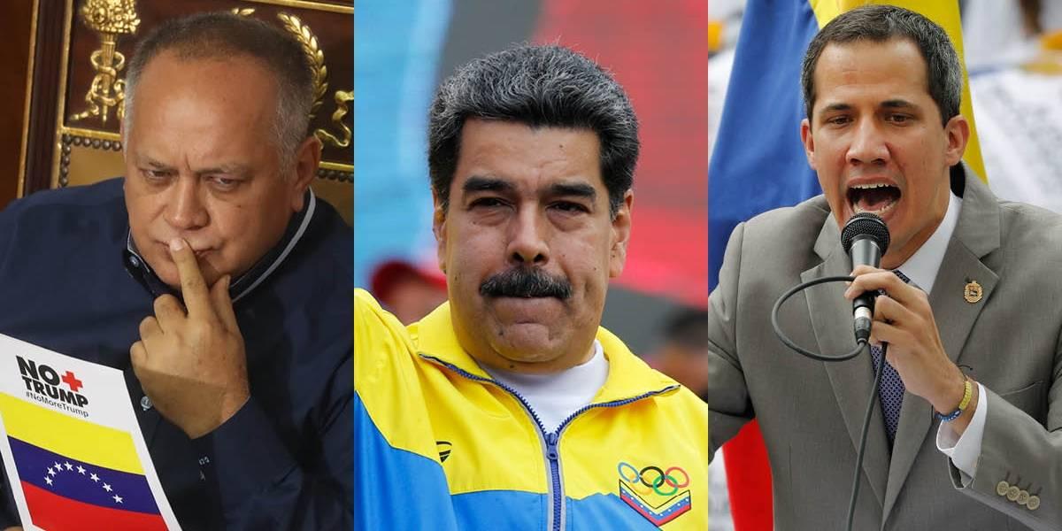 Venezuela: Juan Guaidó alerta que Nicolás Maduro disolvería el Parlamento y Diosdado Cabello lo niega