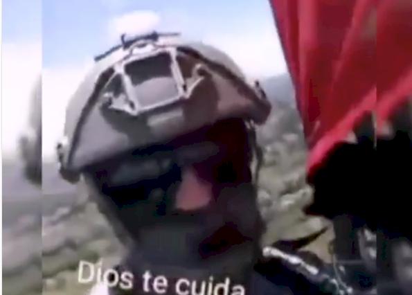 (Video) El último vuelo del militar Sebastián Gamboa antes del accidente en Medellín