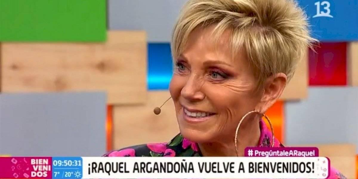 """Raquel Argandoña vuelve a """"Bienvenidos"""" como coanimadora a dos meses de ser desvinculada"""