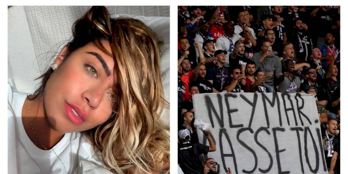 La hermana de Neymar explota y ofende a la afición del PSG