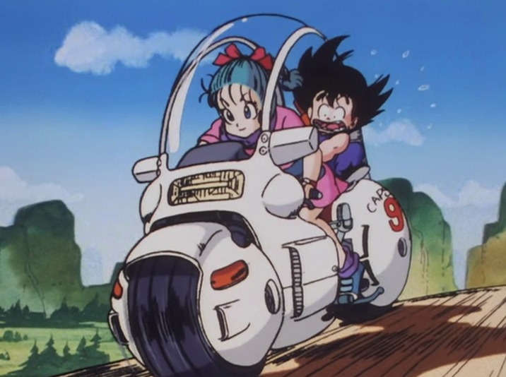 Dragon Ball moto